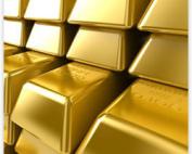 GoldBarsClose