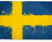 SpatterSwedishFlag