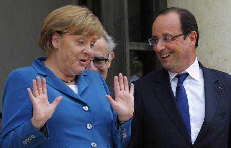 Angela-Merkel-Francois-Hollande