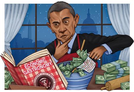 Obama-economic-gastronomy