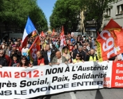 Manifestation du 1er mai, defile fete du travail